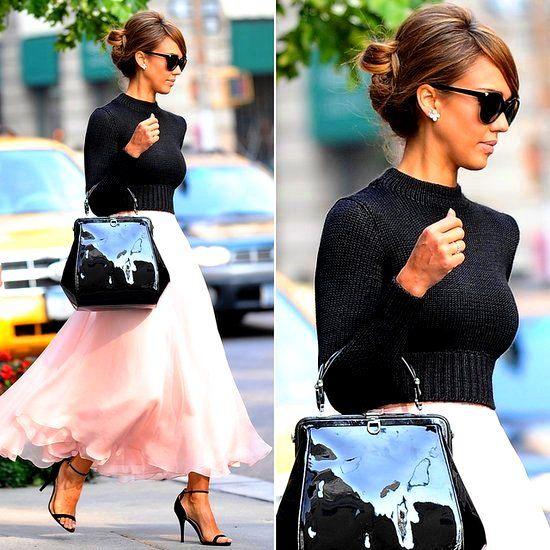 jessica Alba moda