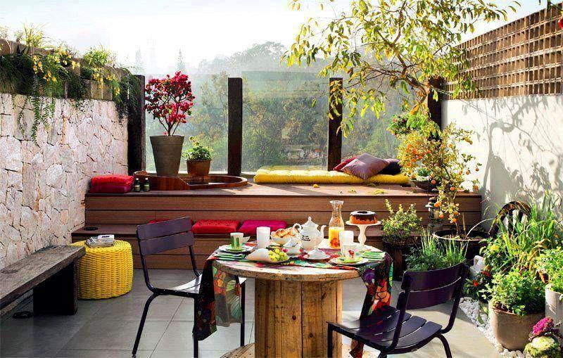 Bahçe ve Balkonlarınızı Güzelleştiren Sihirli Dokunuşlar