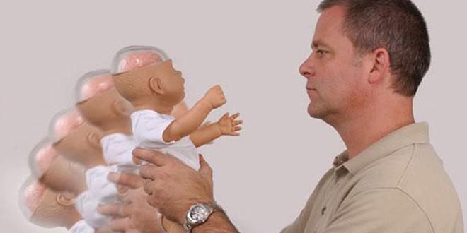 sarsılmış bebek