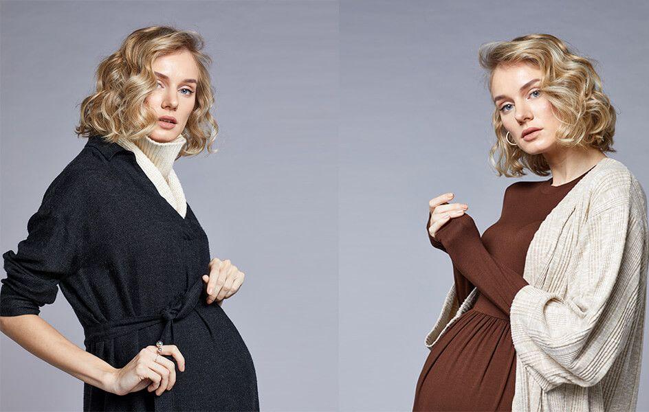Hamileler Kış Mevsiminde de Kıyafet Sorunu Yaşamayacak!